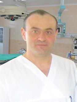 Andrei Sîngereanu – șeful secției de Chirurgie Generală