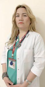Dna Alina Sologub, Medic anesteziolog-reanimatolog