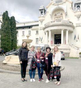 Echipa secției de Anesteziologie, Terapie Intensivă și Reanimare la cel de-al 44-lea Congres al Societății Române de Anestezie și Terapie Intensivă, desfășurat în perioada 9-13 mai la Sinaia, România
