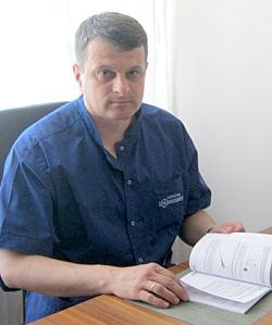 Valentin Mustea – șeful Blocului de operații