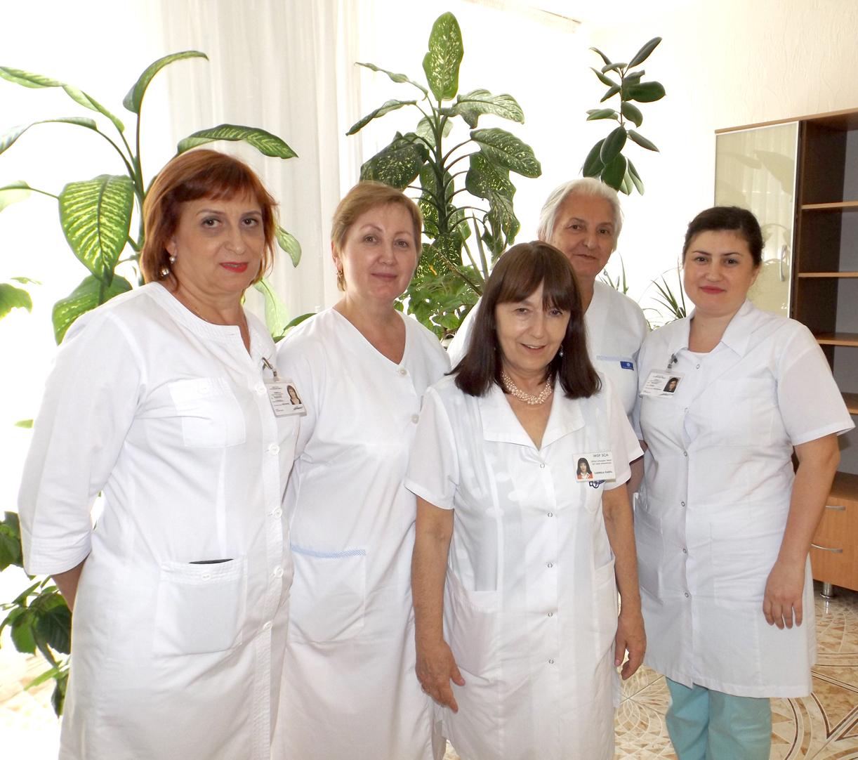 Echipa pe medici pneumologi