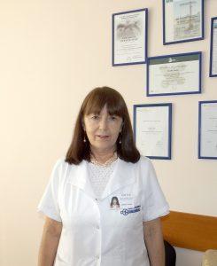 Dna Ludmila Panfil, medic pneumolog-șef secție Pneumologie