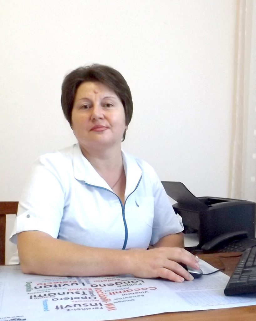 Dna Maria Goțuleac, asistent medical șef