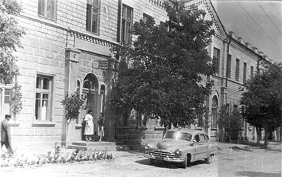 Secția internări și blocul chirurgical al Spitalului Clinic Orășenesc nr. 2, anii 50